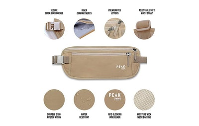 Peak Gear Travel Money Belt