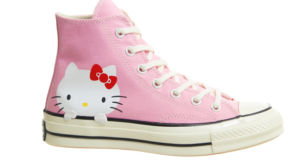 6f0d80c61230 Hello Kitty x Converse Sneakers Are Sublime Cuteness In Footwear Form