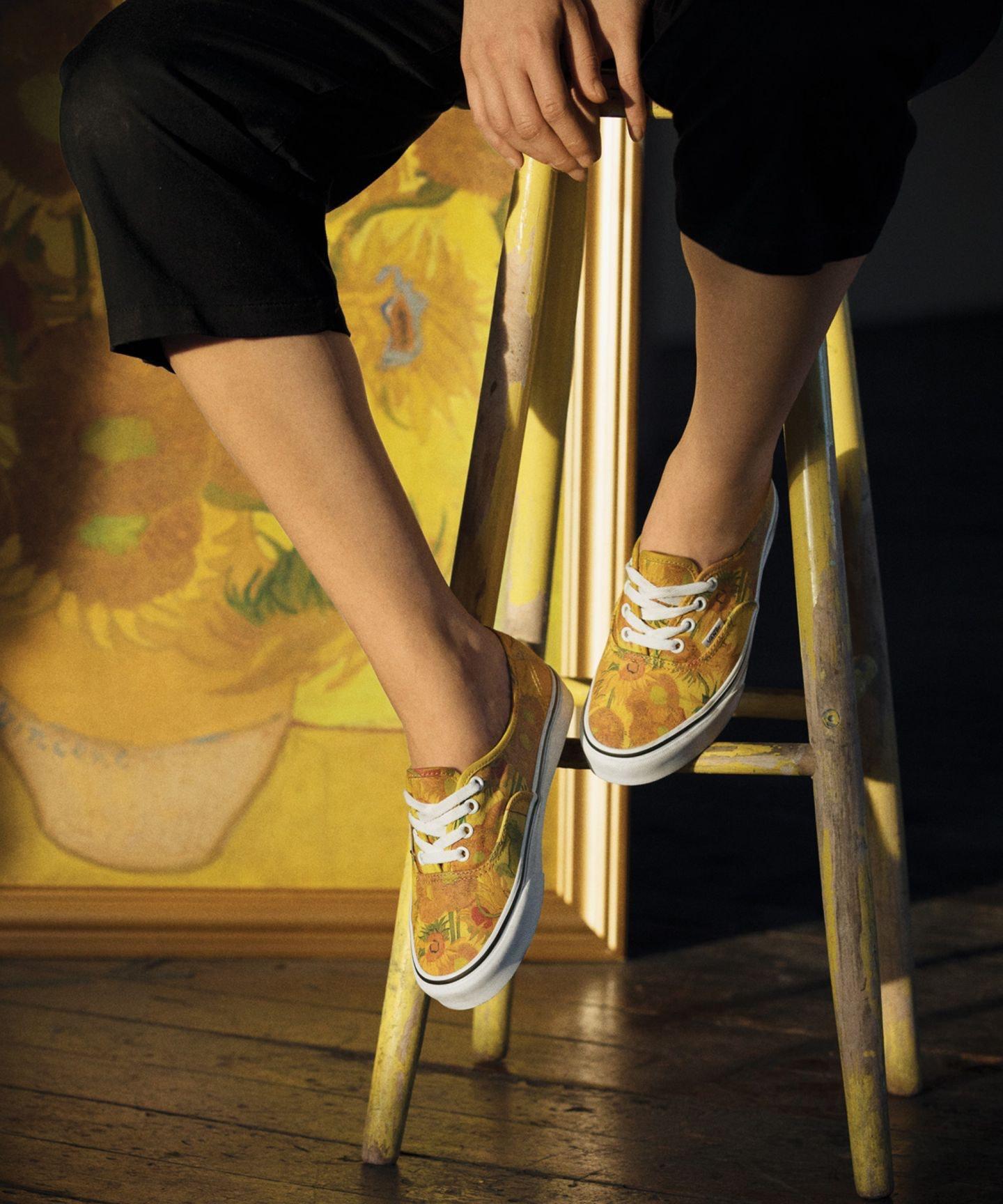 The Vans x Van Gogh Museum Sneaker