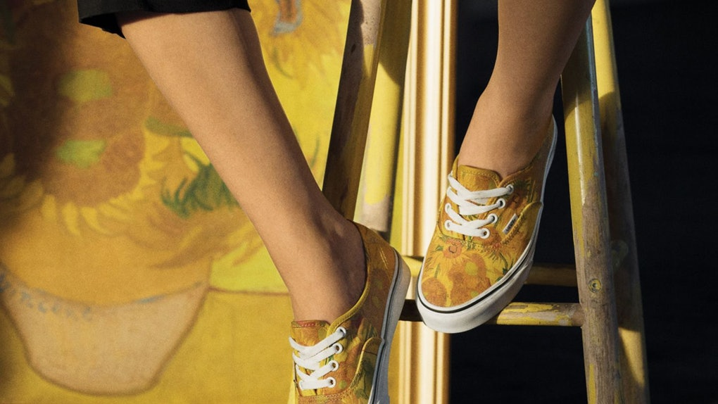 e5d6530199fd2a The Vans x Van Gogh Museum Sneaker Collection Makes Getting Dressed A Fine  Art