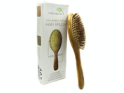 Natural Bamboo Detangling Brush