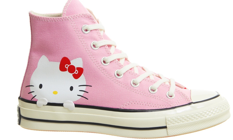 Where To Buy Hello Kitty x Converse Shoes Because Shes The Worlds Most  Stylish Cat After All