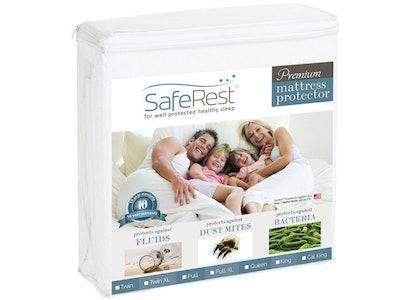SafeRest Premium Hypoallergenic Mattress Cover