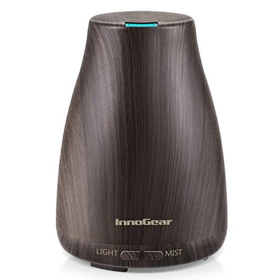 InnoGear Upgraded Wood Grain Aromatherapy Essential Oil Diffuser