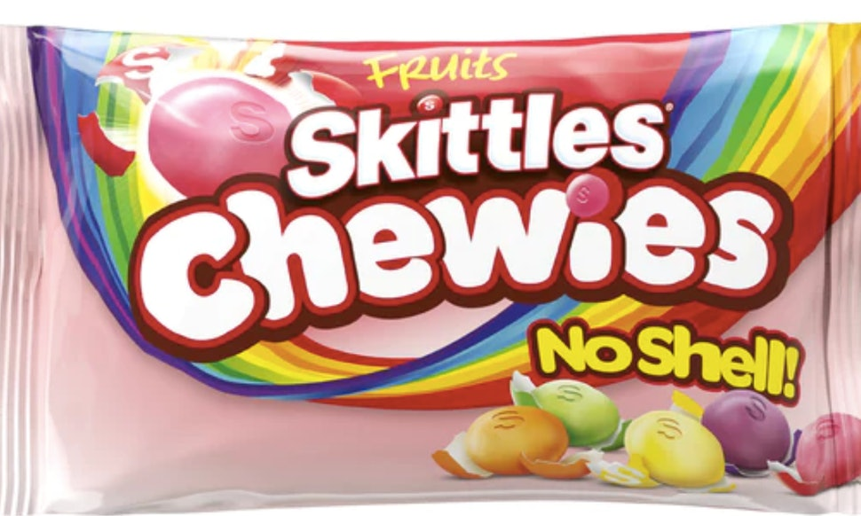 Skittles Chewies Are Quot No Shell Quot Skittles Amp They Will