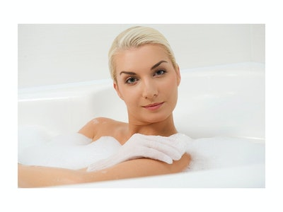 Linda Exfoliating Bath Gloves