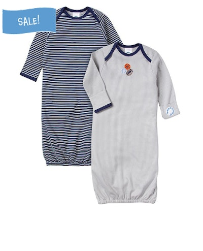 Boys 2-Pack Gowns