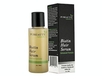 Pureauty Naturals Biotin Hair Growth Serum
