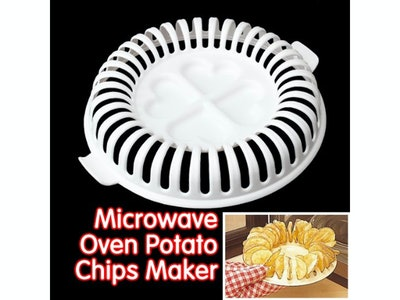 Whitelotous Potato Chip Microwave Tray
