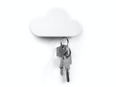 TWONE White Cloud Key Holder