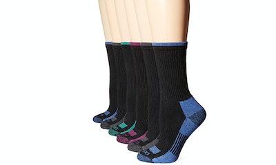 Dickies Women's Dritech Advanced Moisture-Wicking Crew Socks