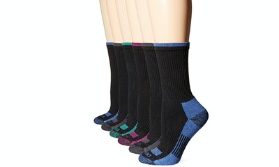 Dickies Women's Dritech Advanced Moisture-Wicking Crew Socks