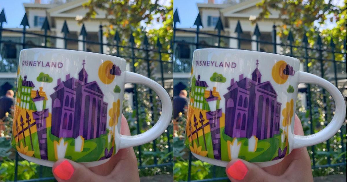 Disneyland Has A Starbucks Haunted Mansion Mug &