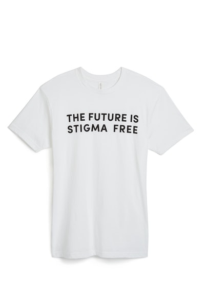Wear Your Label Unisex The Future is Stigma Free T-Shirt