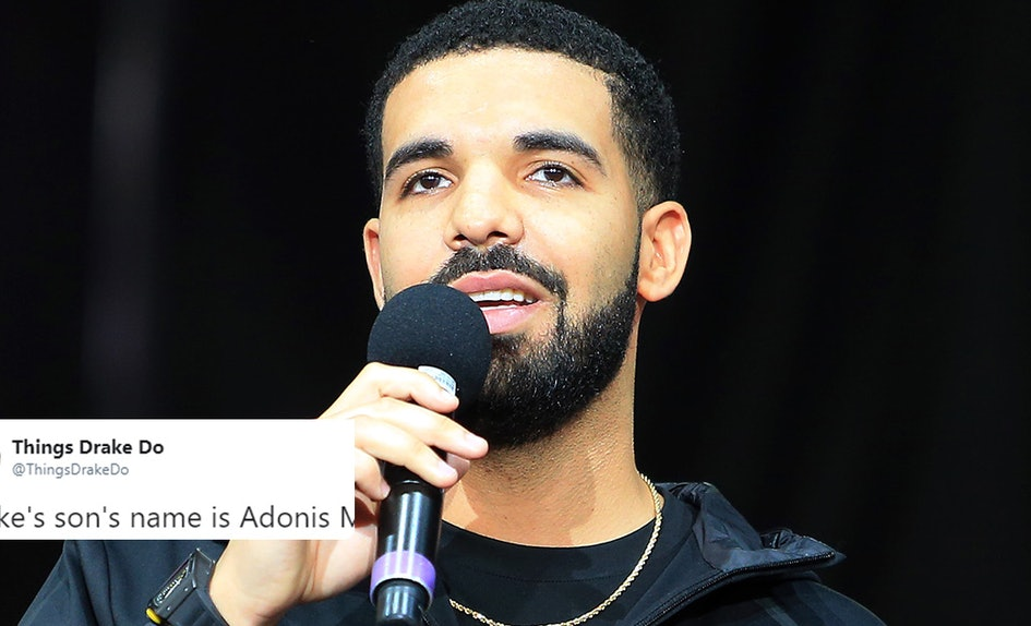 This Theory About Drakes Sons Middle Name Has Twitters Mind Blown