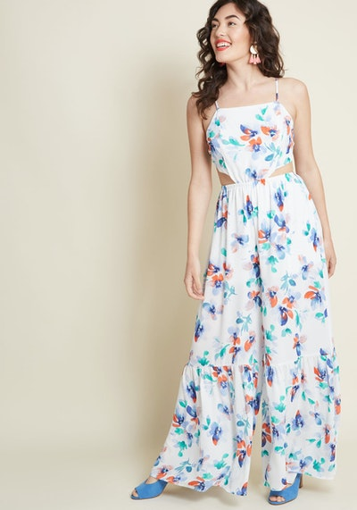 Airy Ambience Wide-Leg Jumpsuit