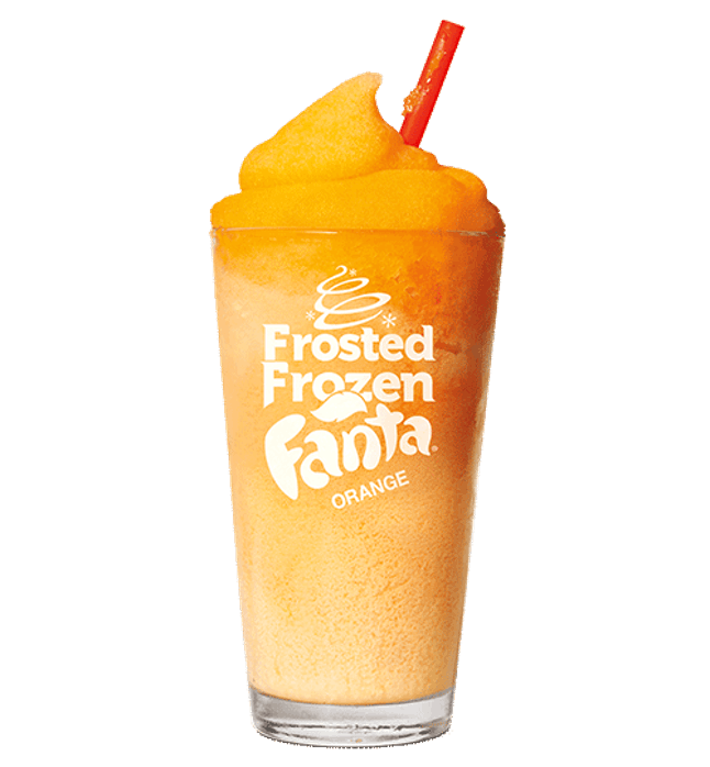 how to make fanta frozen
