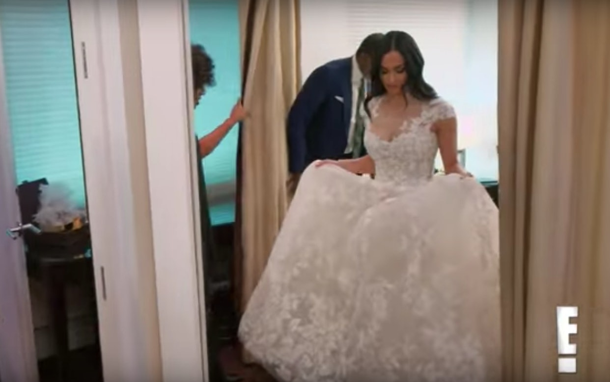 This Video Of Nikki Bella Picking Her Wedding Dress Is Bittersweet ...
