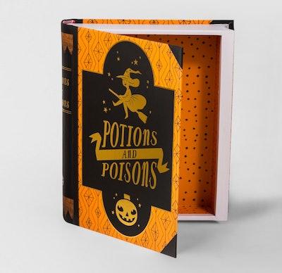 Hallow's Eve Potion & Poison Decorative Book