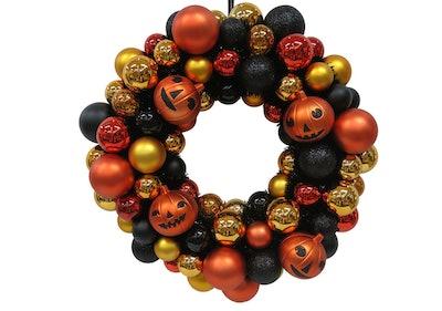 Halloween Shatterproof Wreath