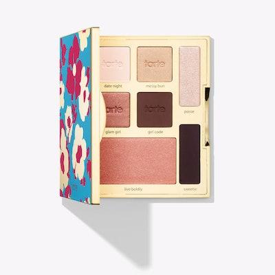limited-edition happy girls shine brighter eye & cheek palette