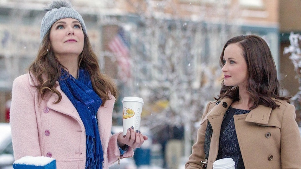 Rory and Lorelai in 'Gilmore Girls: A Year in the Life'