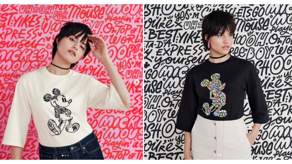 238612d38 Uniqlo's Love & Mickey Mouse Collection By Kate Moross Is Magical AF