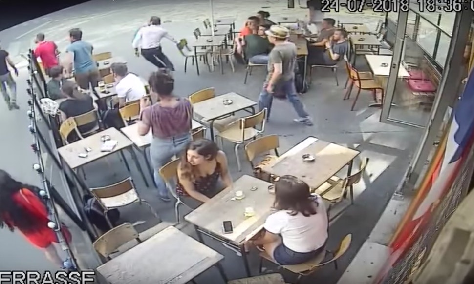 Video Of A Paris Woman Getting Hit In The Face By Street Harasser Is So Jarring