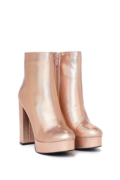 Come Dancing Platform Boot