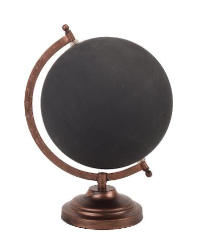 Bronze Chalkboard Globe