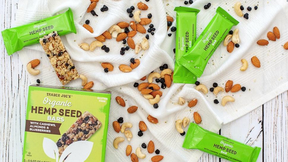Trader Joe's Organic Hemp Seed Bars Put