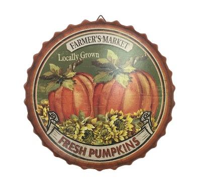 Pumpkin Pie Wall Plate