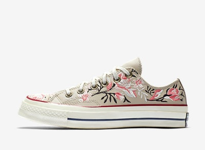 Chuck 70 Parkway Floral Low Top