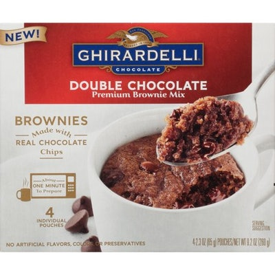 Ghirardelli Double Chocolate Mug Brownie Mix