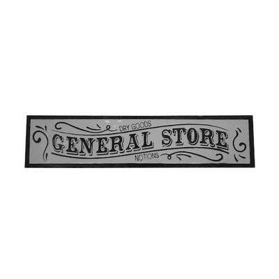 General Store Enamel Wall Sign