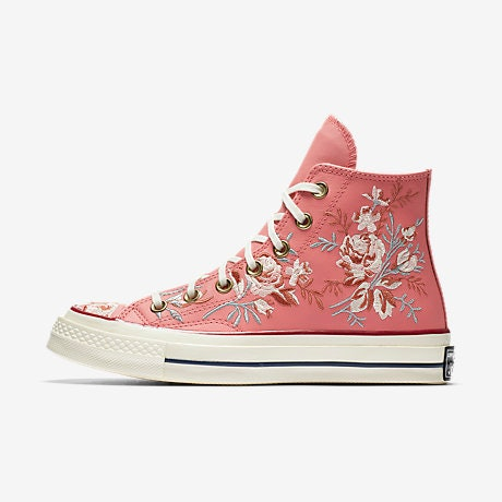 d198410f1fa9 Where To Buy Converse Parkway Floral High Tops Because These Sneakers Are  Fit For A Princess