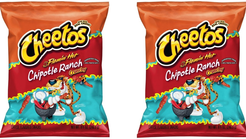 Flamin Hot Chipotle Ranch Cheetos Are The Spicy Cool Snack Your