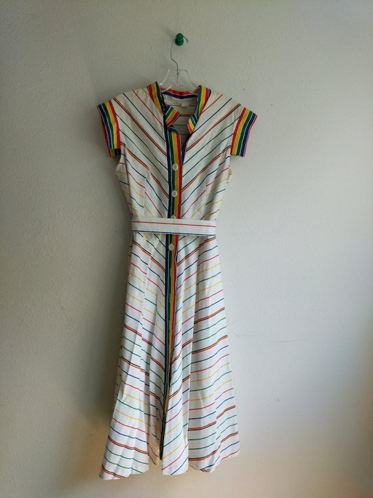 Vintage Dress 80s