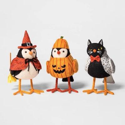 Halloween Bird Trio