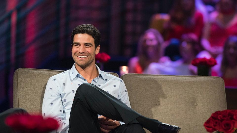 Grocery Store Joe Gets In The Hot Seat On Men Tell All Bachelorette Contestant Is Still A Fan Favorite