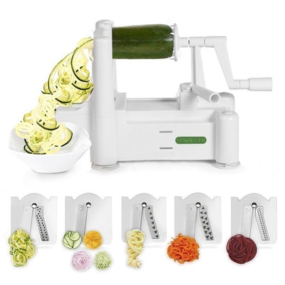 Spiralizer with multiple blades