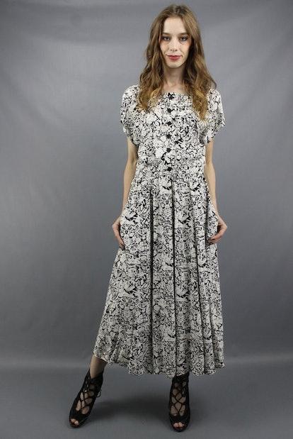 Liz Claiborne Dress 90s Maxi Dress