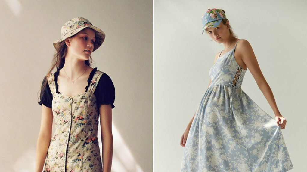 6fe7a32805 The Laura Ashley x Urban Outfitters Collab Is So '90s I Cry
