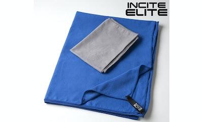 Incite Elite Microfiber Towel with Hand Towel and Bag