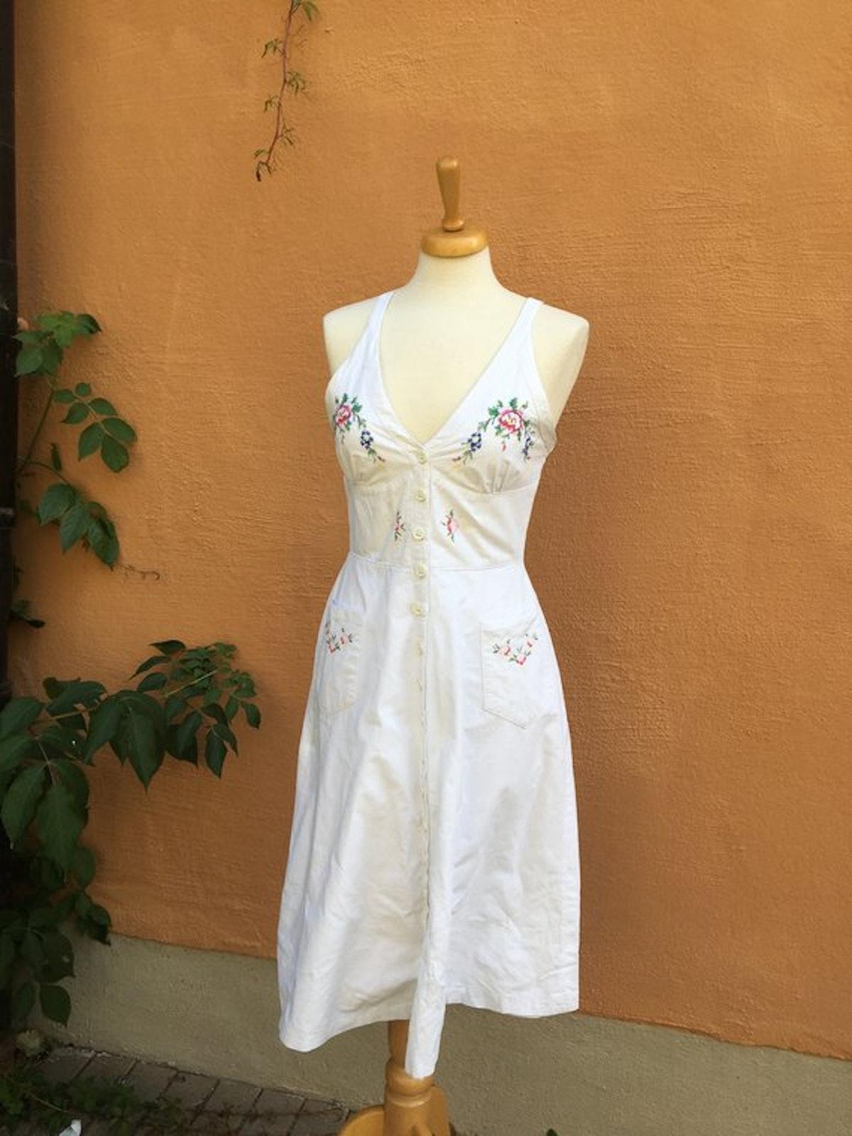 Cotton 60's dress
