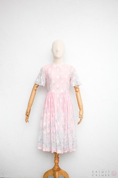 Japanese Vintage '70s Dress