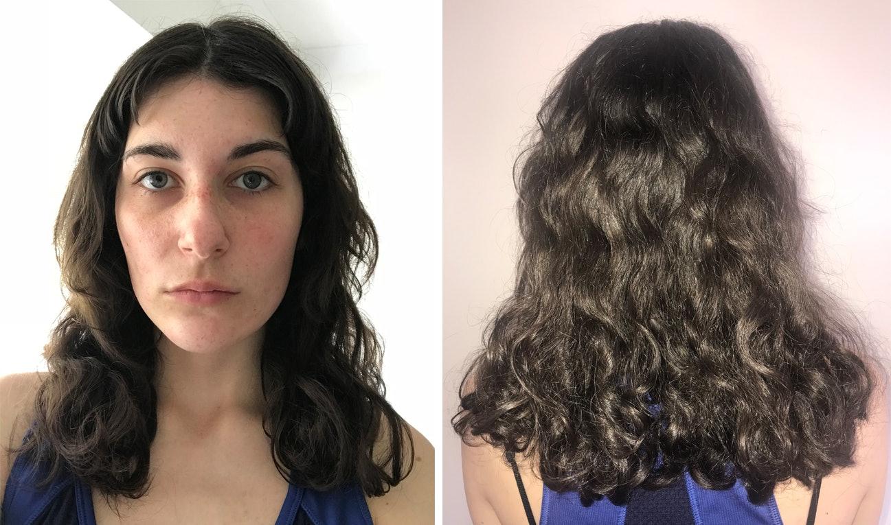 Hair Frizzy try no shampoo catalog photo