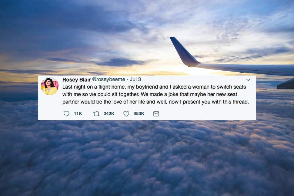 This Viral Twitter Thread About Two Strangers Meeting On An Airplane Is The Best Love Story Youve Ever Read