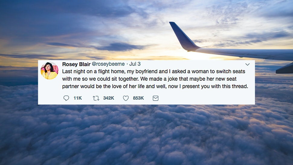 This Viral Twitter Thread About Two Strangers Meeting On An Airplane
