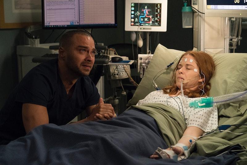 April and Jackson on 'Grey's Anatomy'